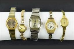 A Ladys 14 Karat Gold Watch Face
