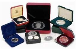 Collection of Canadian Silver Proof and Olympic Coins