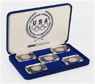 1988 Salvador Dali Olympic Coin Set.