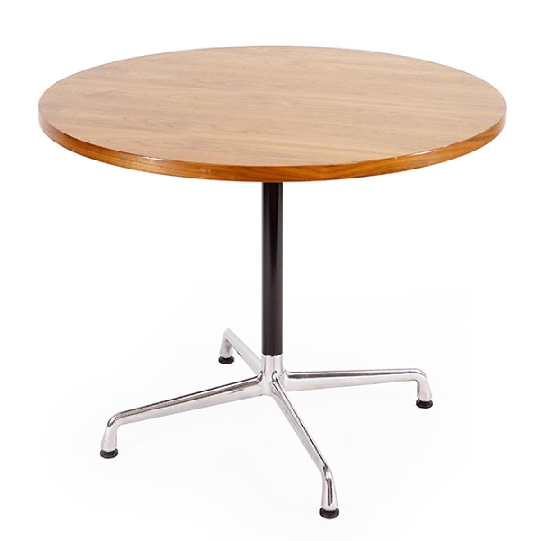 An Eames for Herman Miller Pedestal Table.