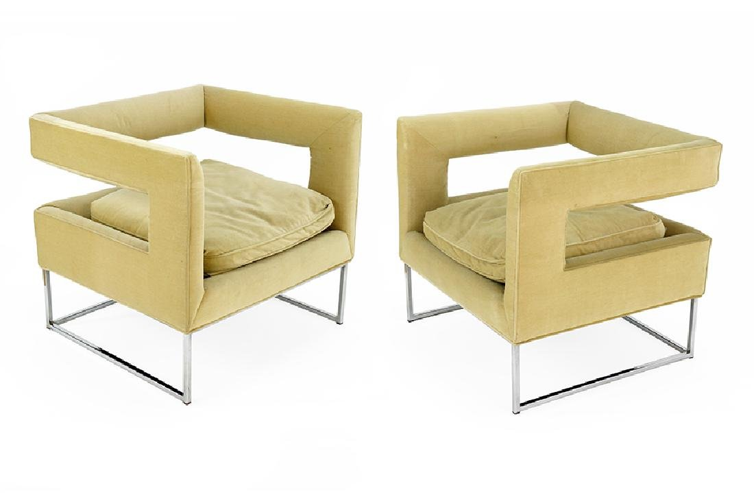 A Pair Of Bevin Armchairs.
