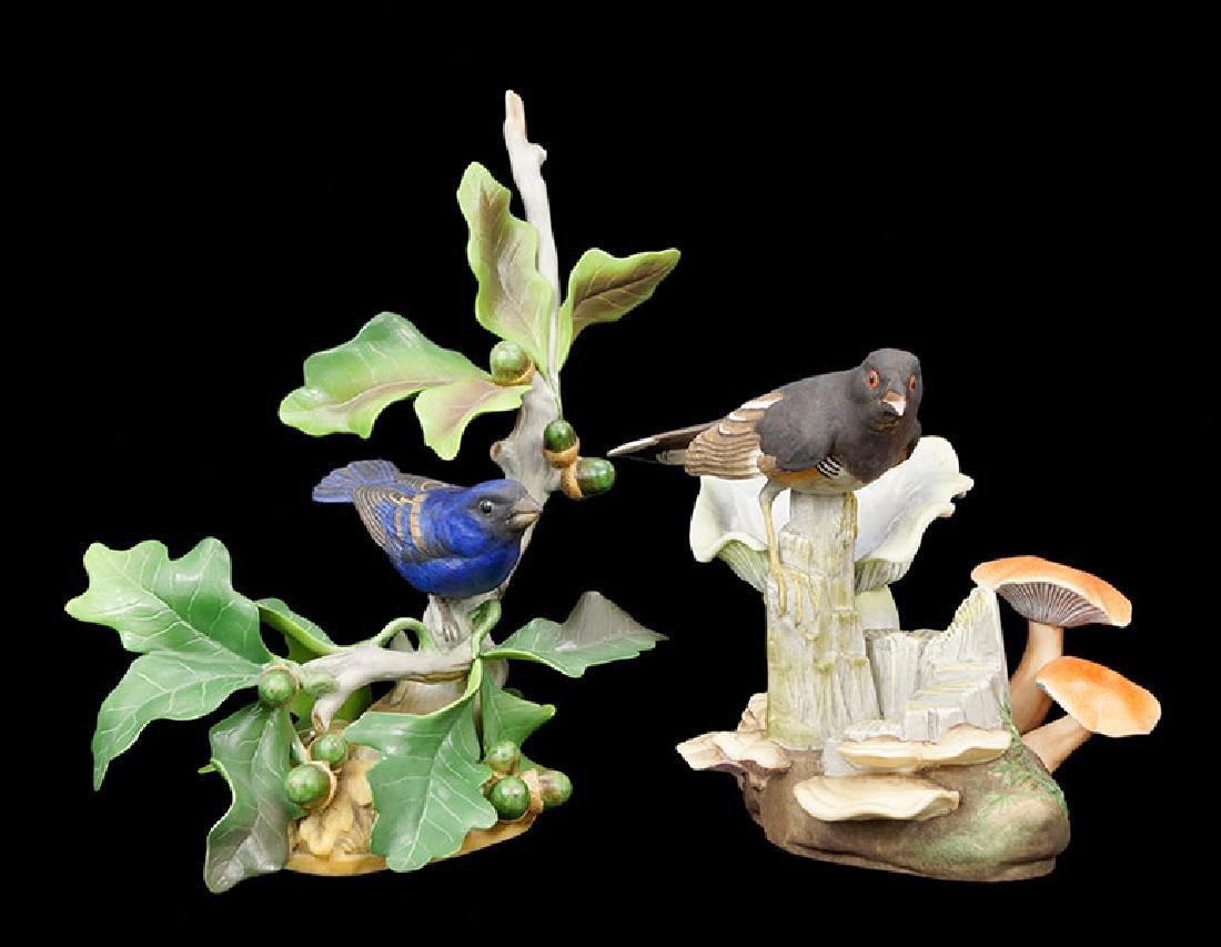 Two Boehm Porcelain Birds.