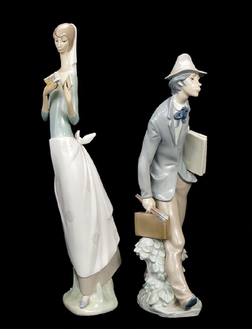 Two Lladro Porcelain Figures.
