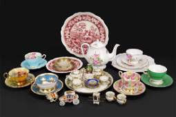 A Collection of English Porcelain Table Articles.