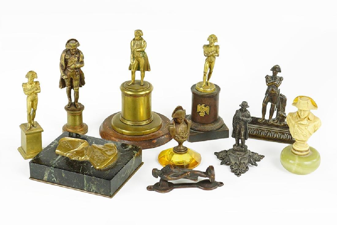 A Collection Of Napoleon Memorabilia.
