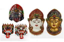 A Collection of Balinese Masks