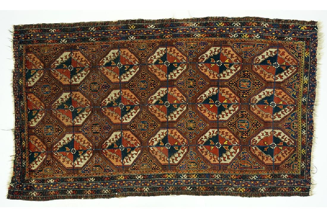 A Persian Rug.