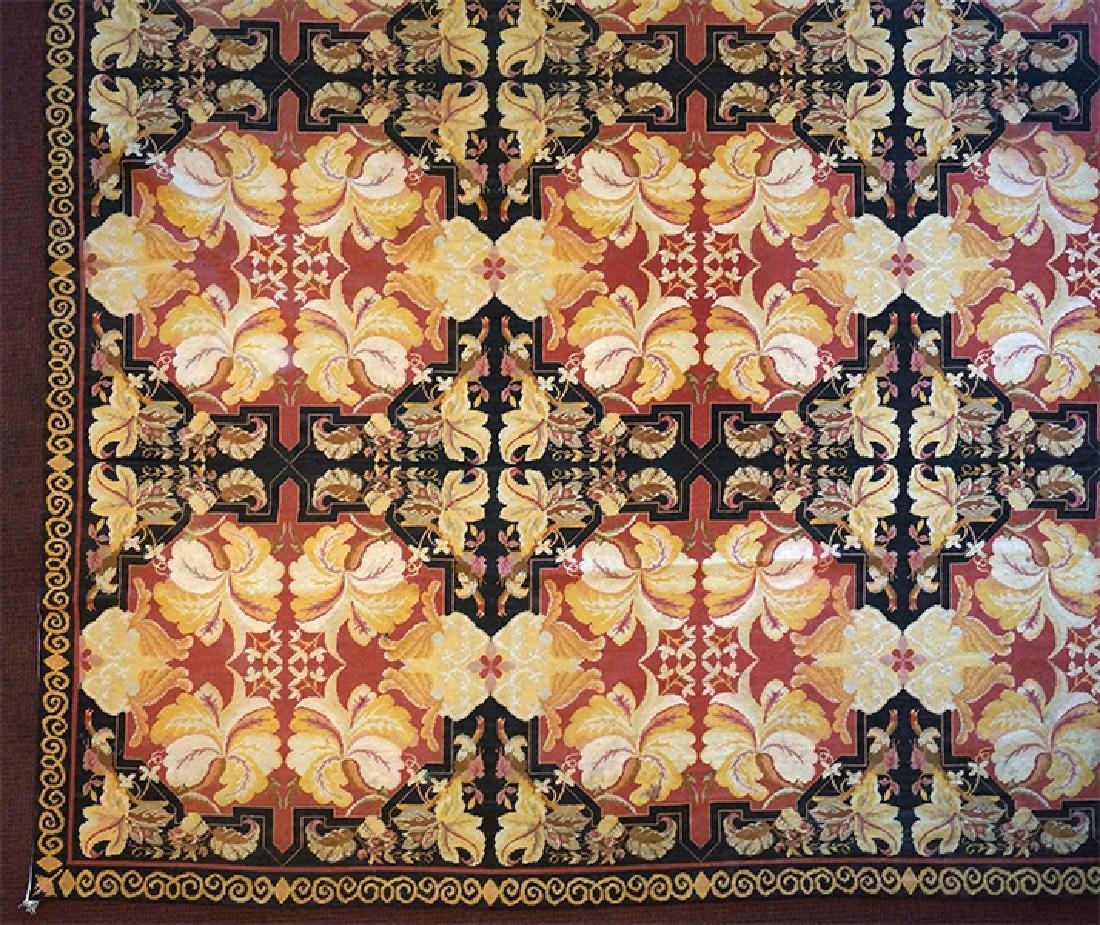 An Aubusson Carpet.