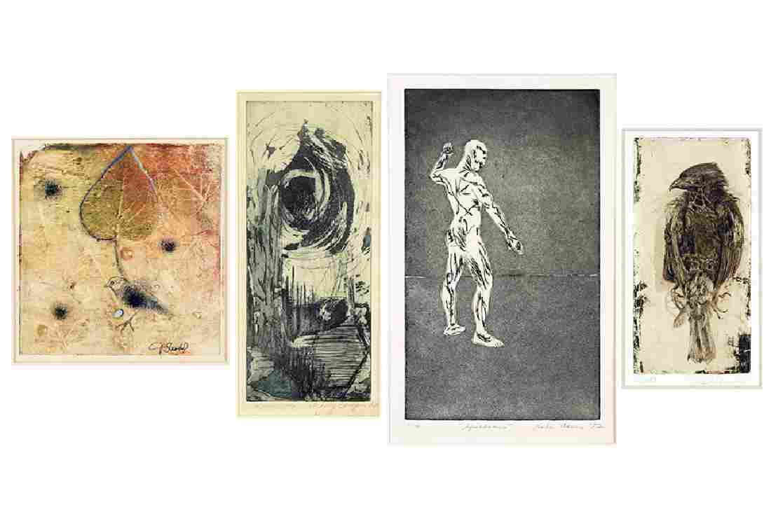 A Collection Of Prints.