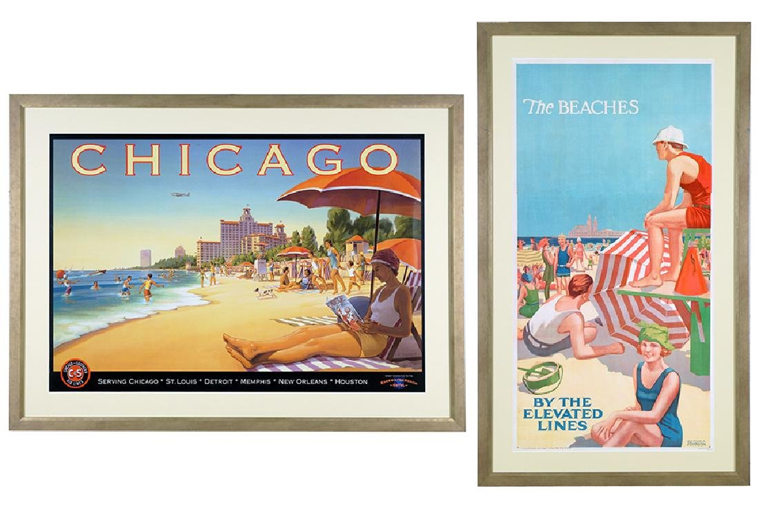 Two Chicago Posters.