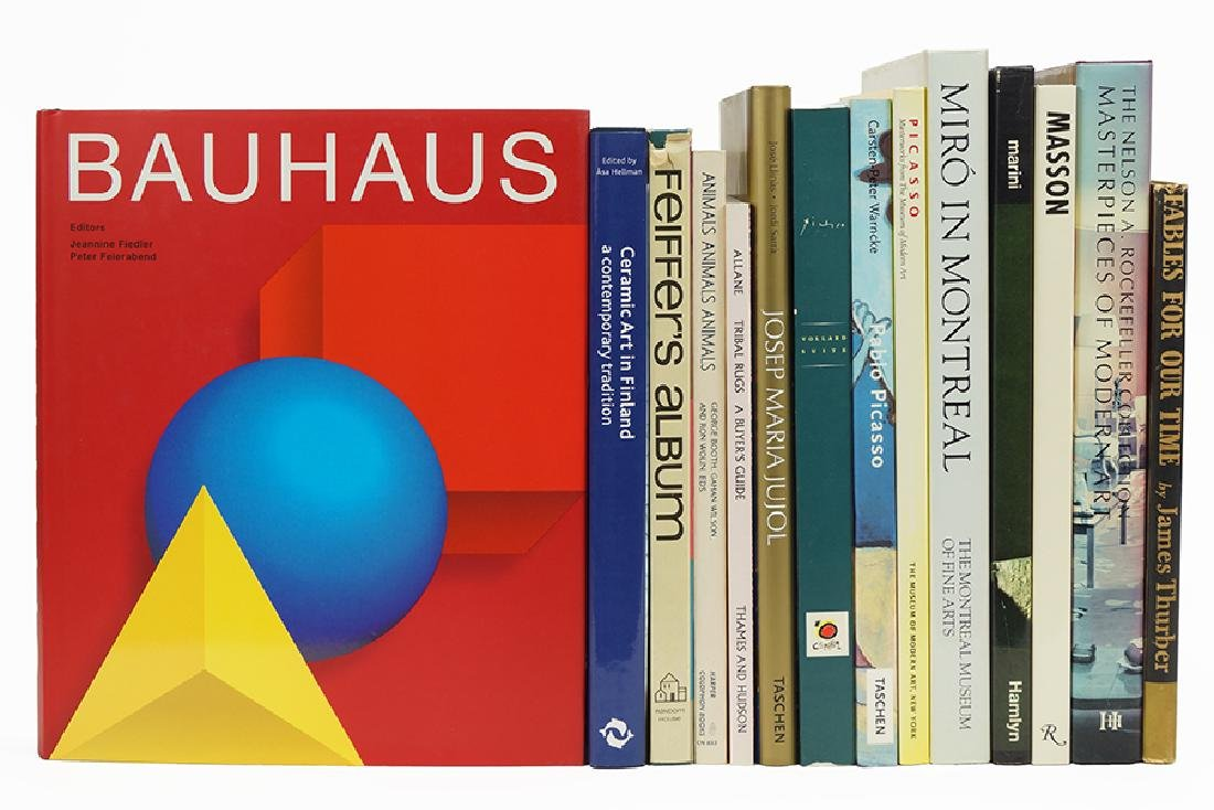 An Assortment Of Art Reference Books.