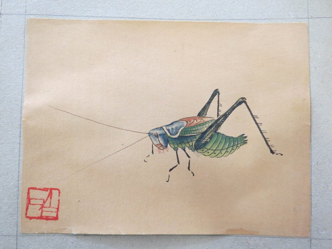 A Group Of Chinese Works On Paper. - 5