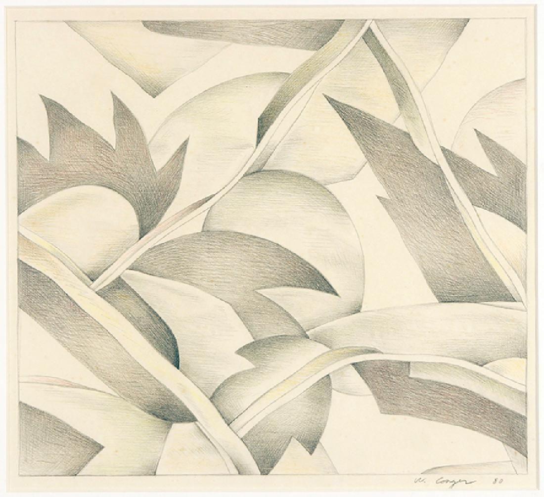 William Conger (American, B. 1937) Untitled.