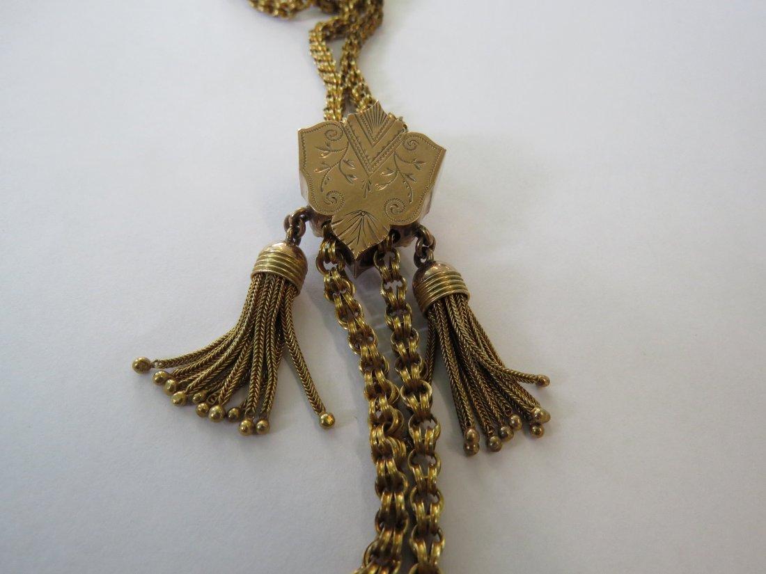 A Victorian Slide Necklace. - 3