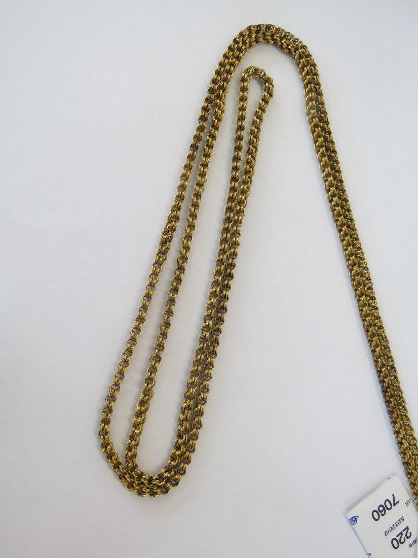 A Victorian Slide Necklace. - 4