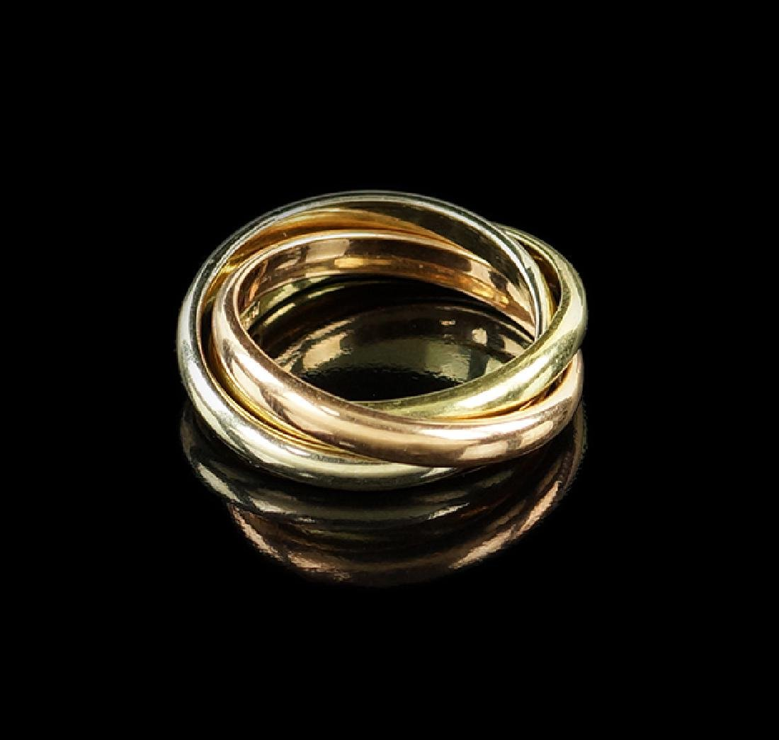 A Trinity Style Ring Set.