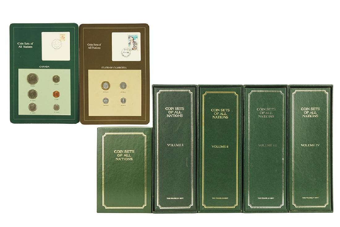 FRANKLIN MINT COIN SET OF ALL NATIONS.