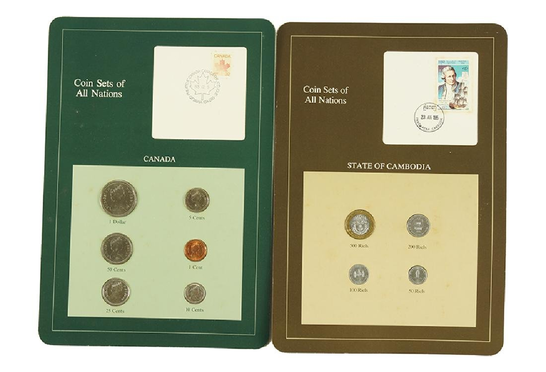 FRANKLIN MINT COIN SET OF ALL NATIONS. - 2