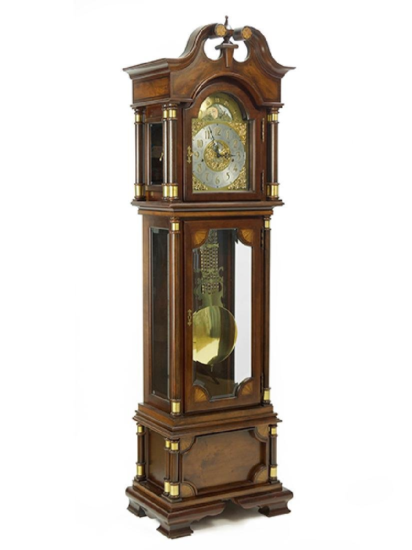 A Hamilton Grandfather Clock.