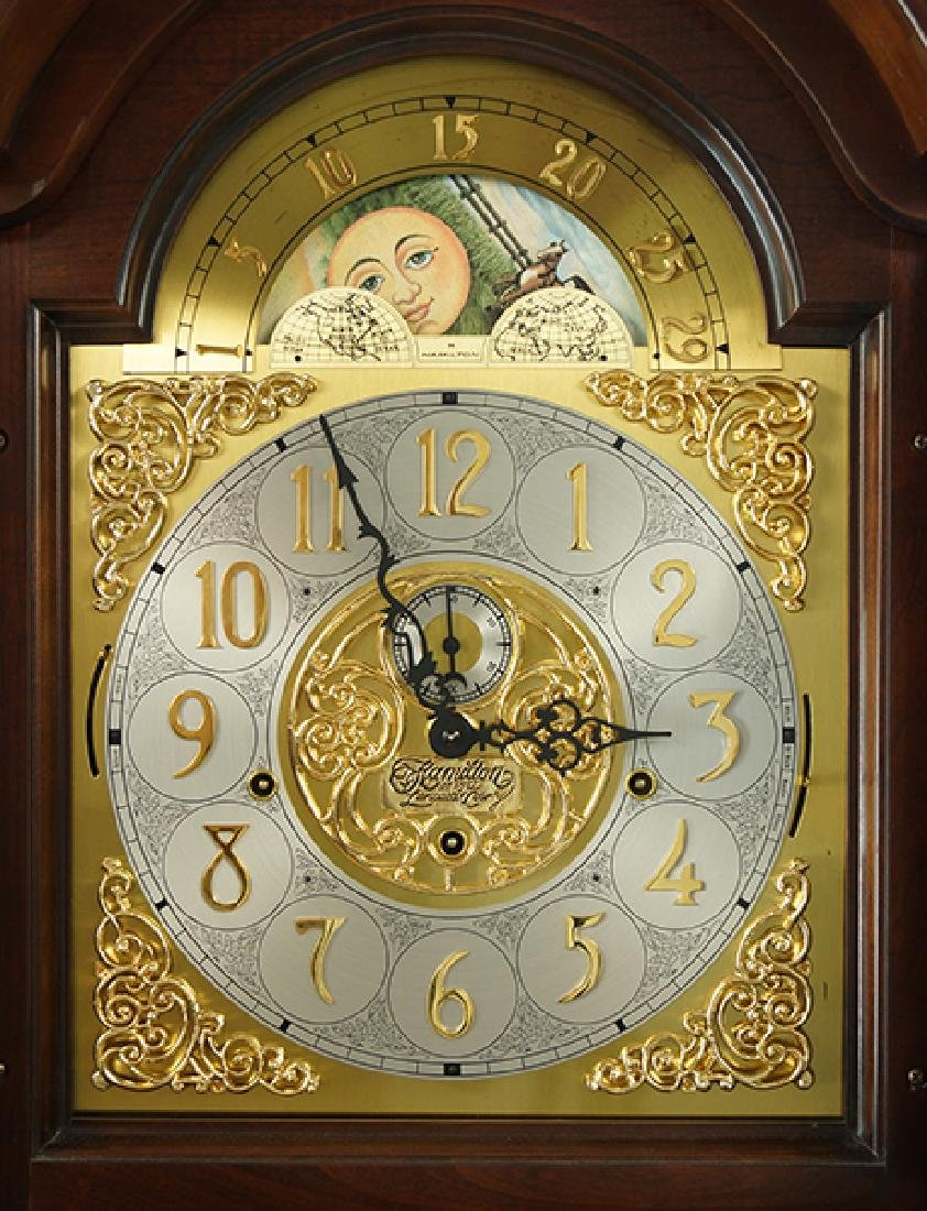 A Hamilton Grandfather Clock. - 2
