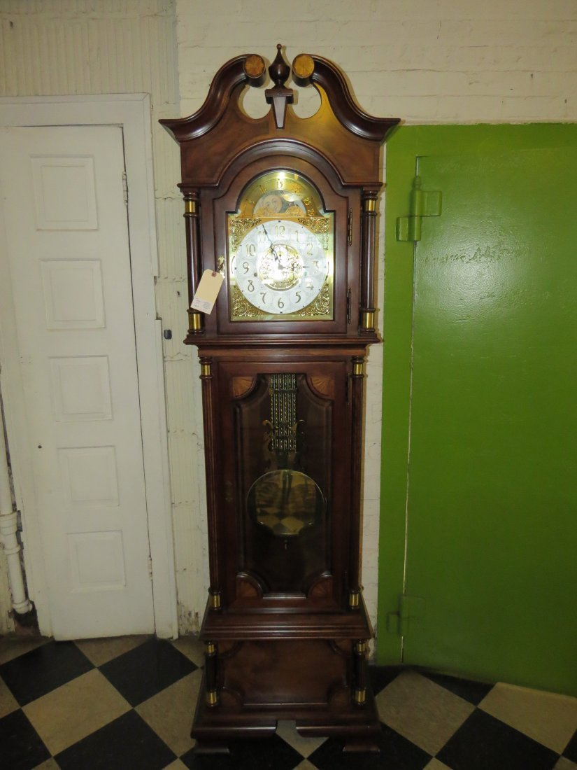 A Hamilton Grandfather Clock. - 3