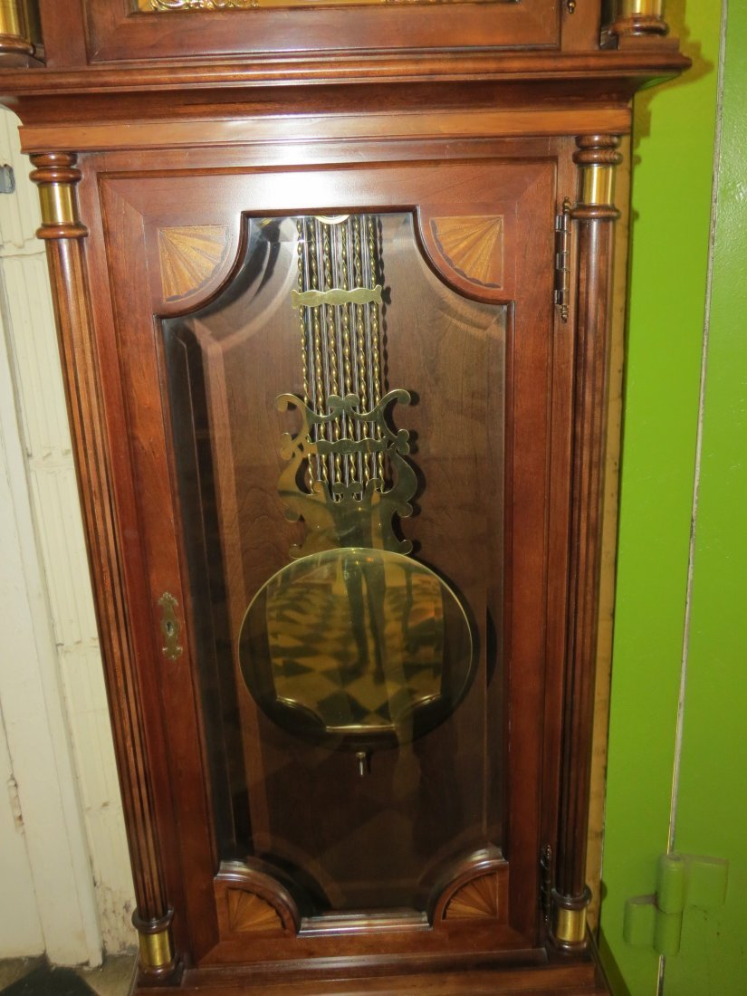 A Hamilton Grandfather Clock. - 8