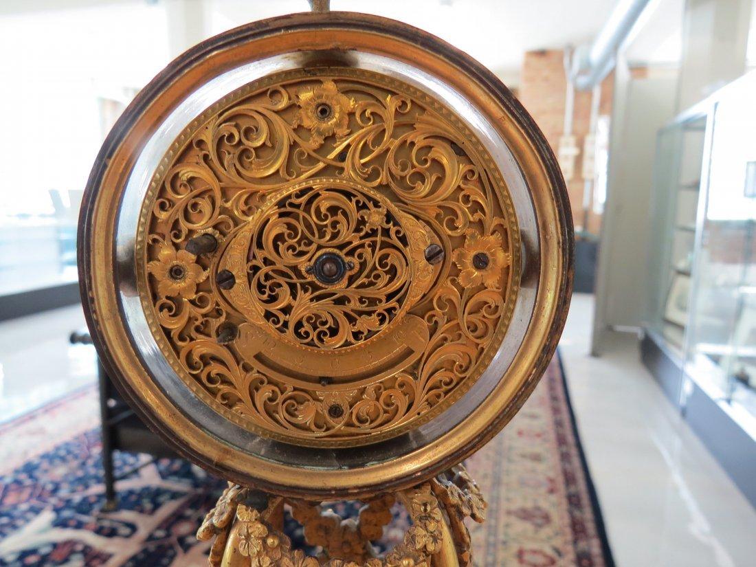 A George III Martin, Royal Exchange Mantle Clock. - 2