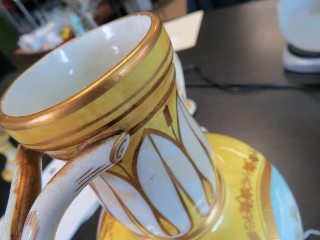 A Pair of Porcelain Urns. - 7