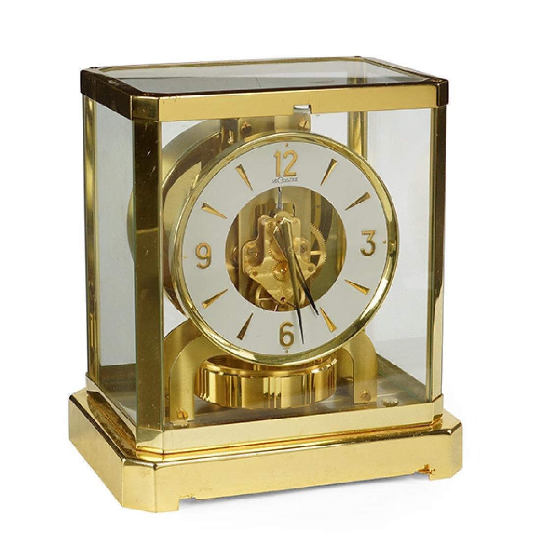 A Jaeger LeCoultre Atmos Clock.
