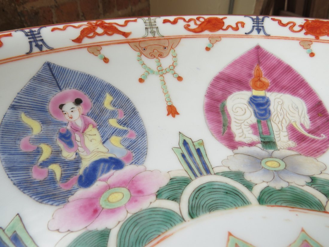 A Pair of Chinese Porcelain Chargers. - 9