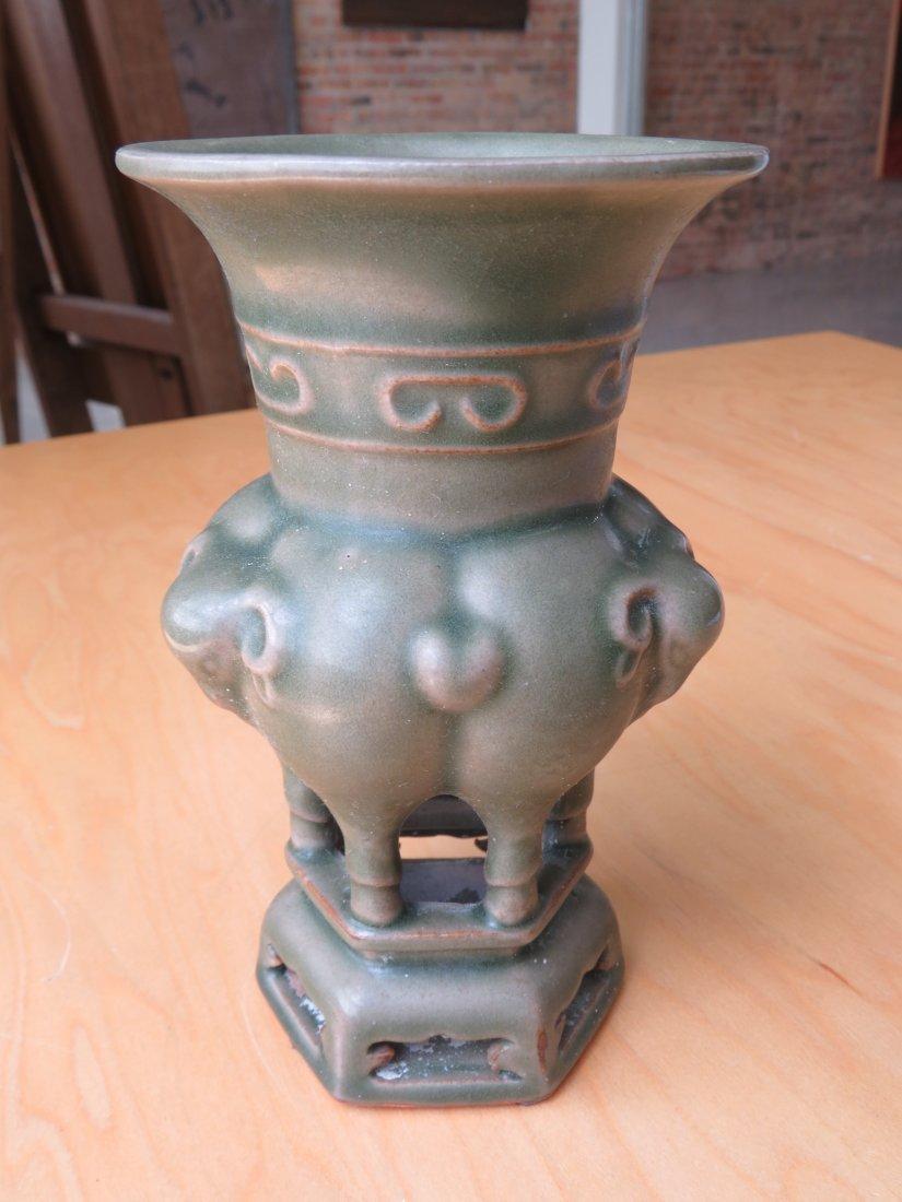 A Chinese Celadon Glazed Censer. - 2