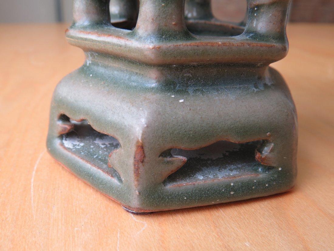A Chinese Celadon Glazed Censer. - 4