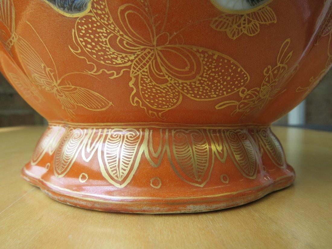 A Chinese Famille Rose Porcelain Vase. - 6