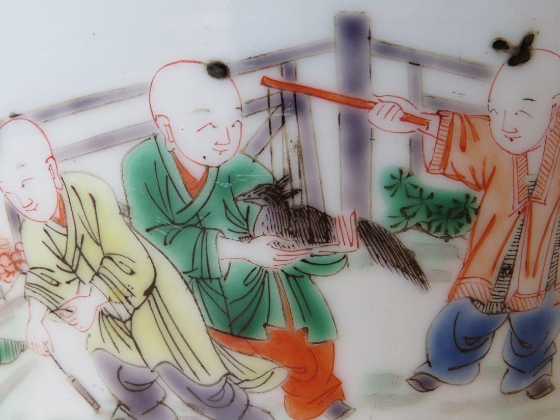A Chinese Famille Verte Porcelain Bowl. - 3