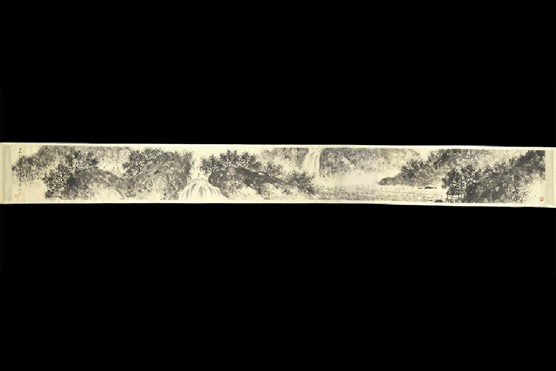 A Chinese Hanging Scroll.