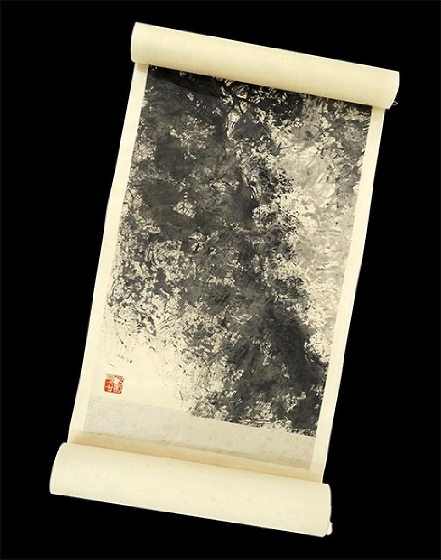 A Chinese Hanging Scroll. - 2