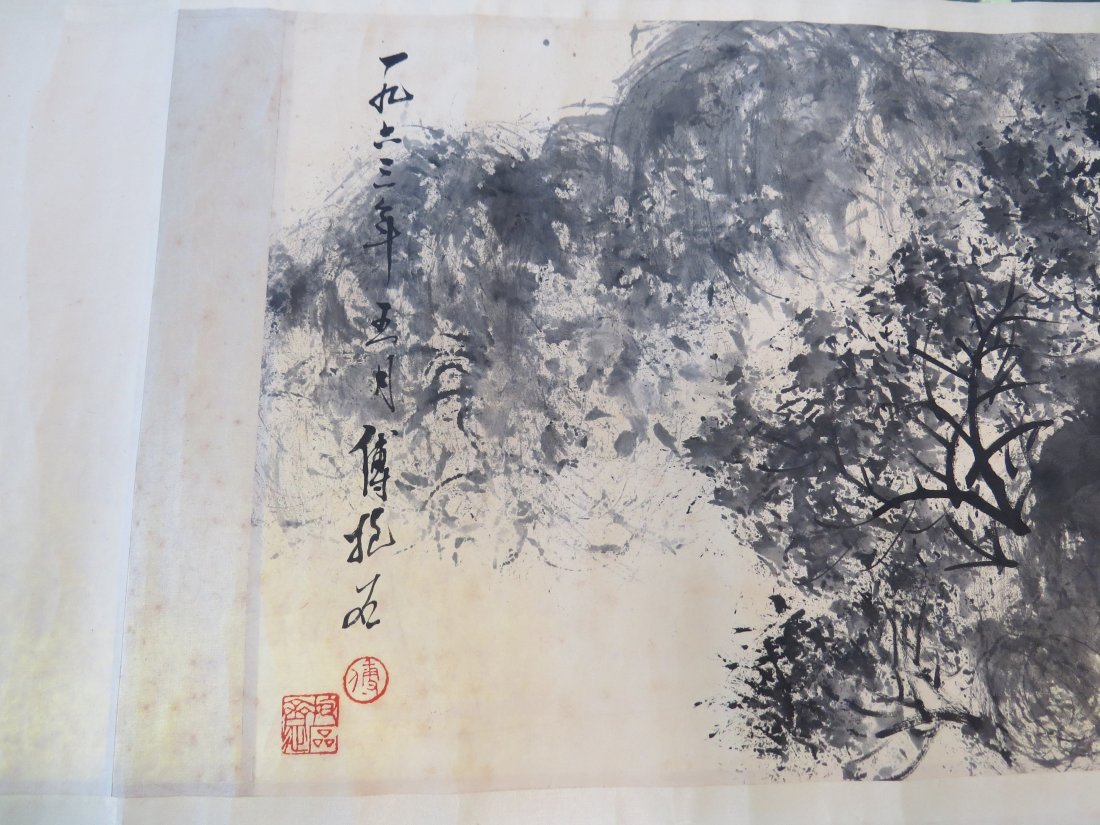 A Chinese Hanging Scroll. - 5