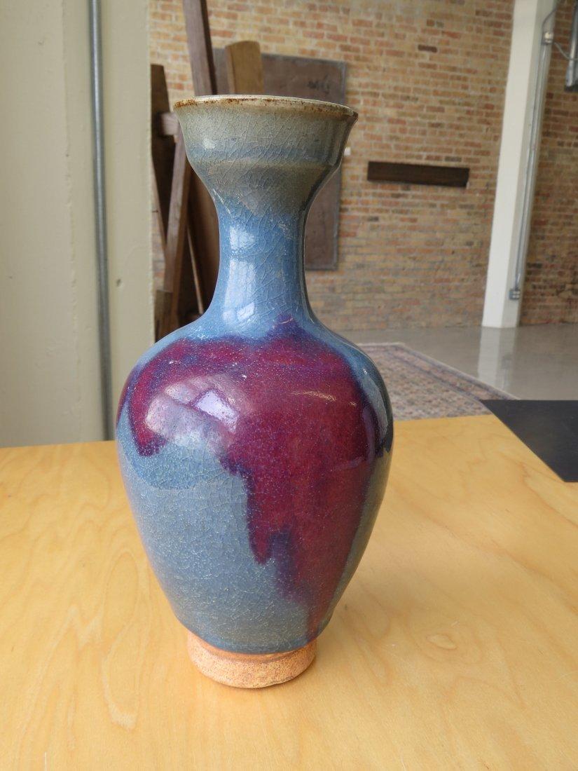 A Chinese Jun Ware Vase. - 2