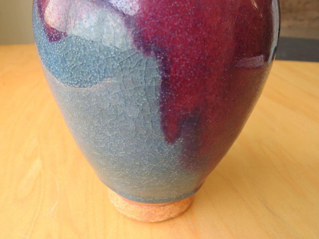 A Chinese Jun Ware Vase. - 3