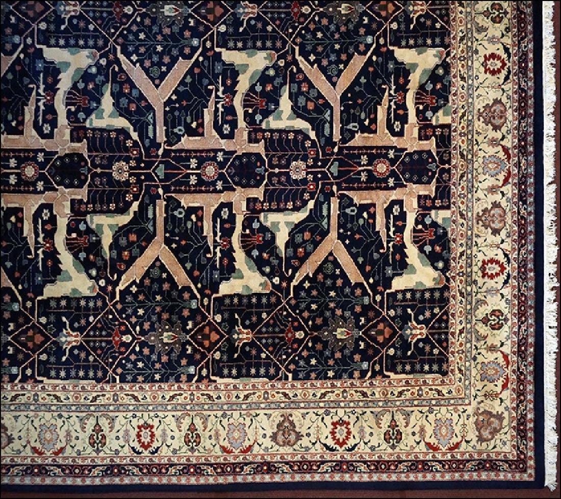 An Indo-Tabriz Style Carpet.