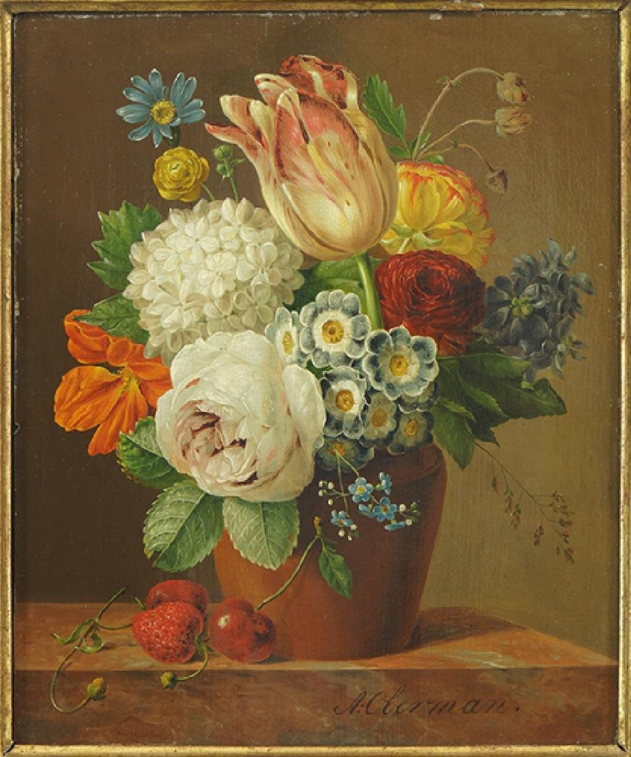 Anthony Oberman (Dutch, 1781-1845) Still Life with