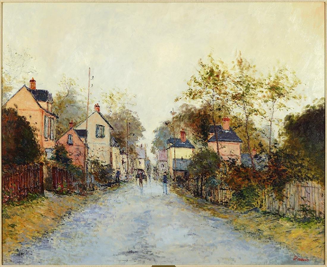 Jean Pierre Dubord (French, B. 1949) La Route de