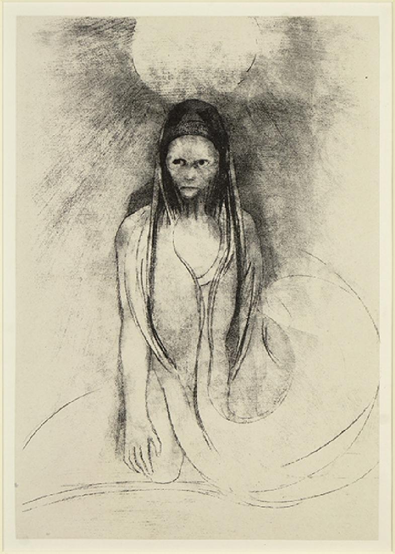 Odilon Redon (French, 1840-1916) L'Intelligence fut a
