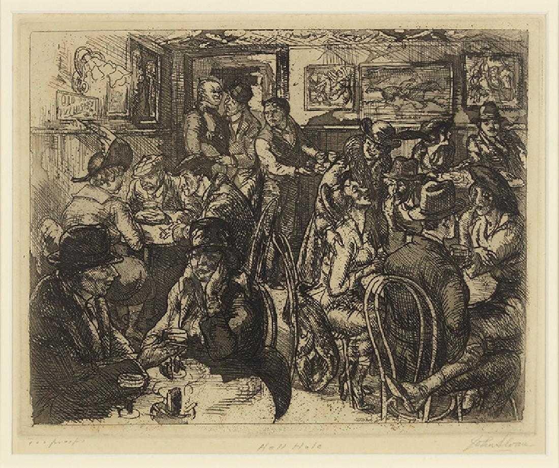 John Sloan (American, 1871-1951) Hell Hole.