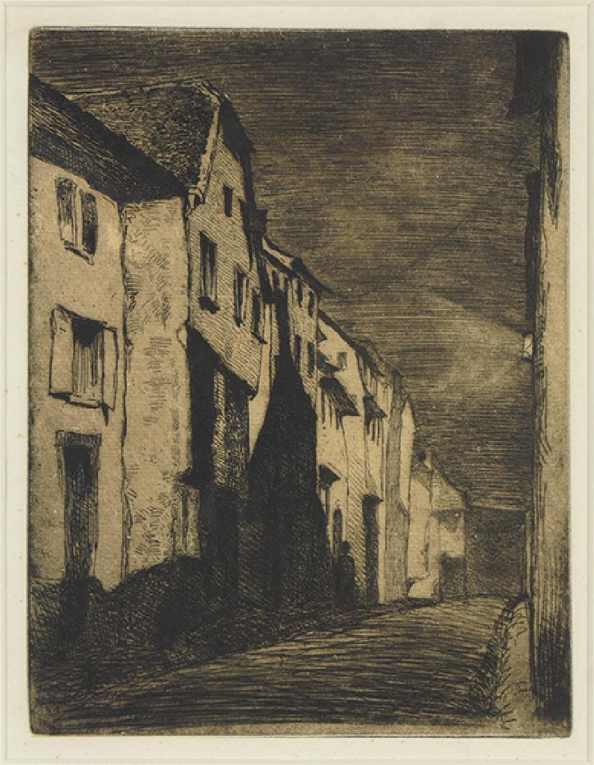 James McNeill Whistler (American, 1834-1903) Street at