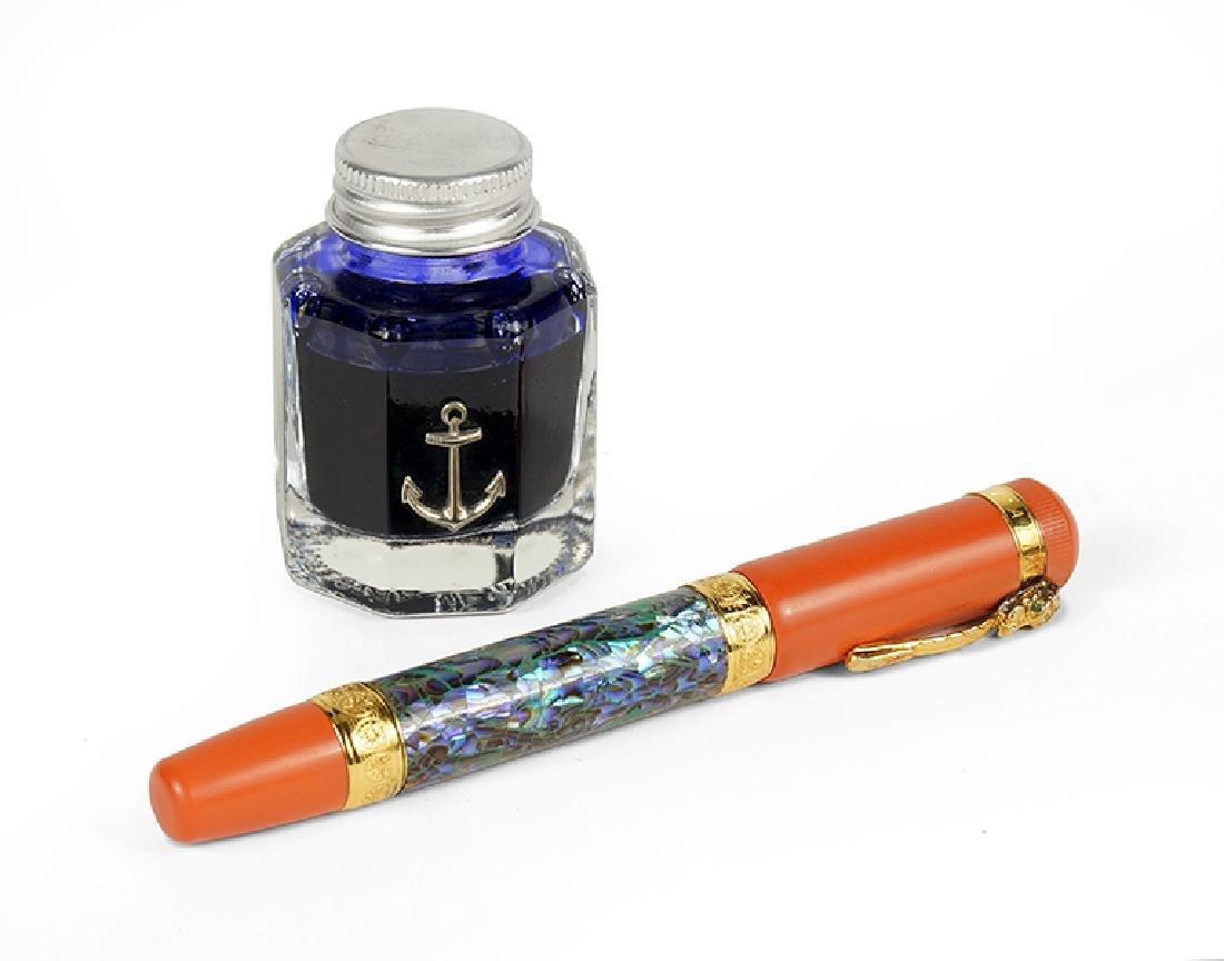 An Ancora Fountain Pen.