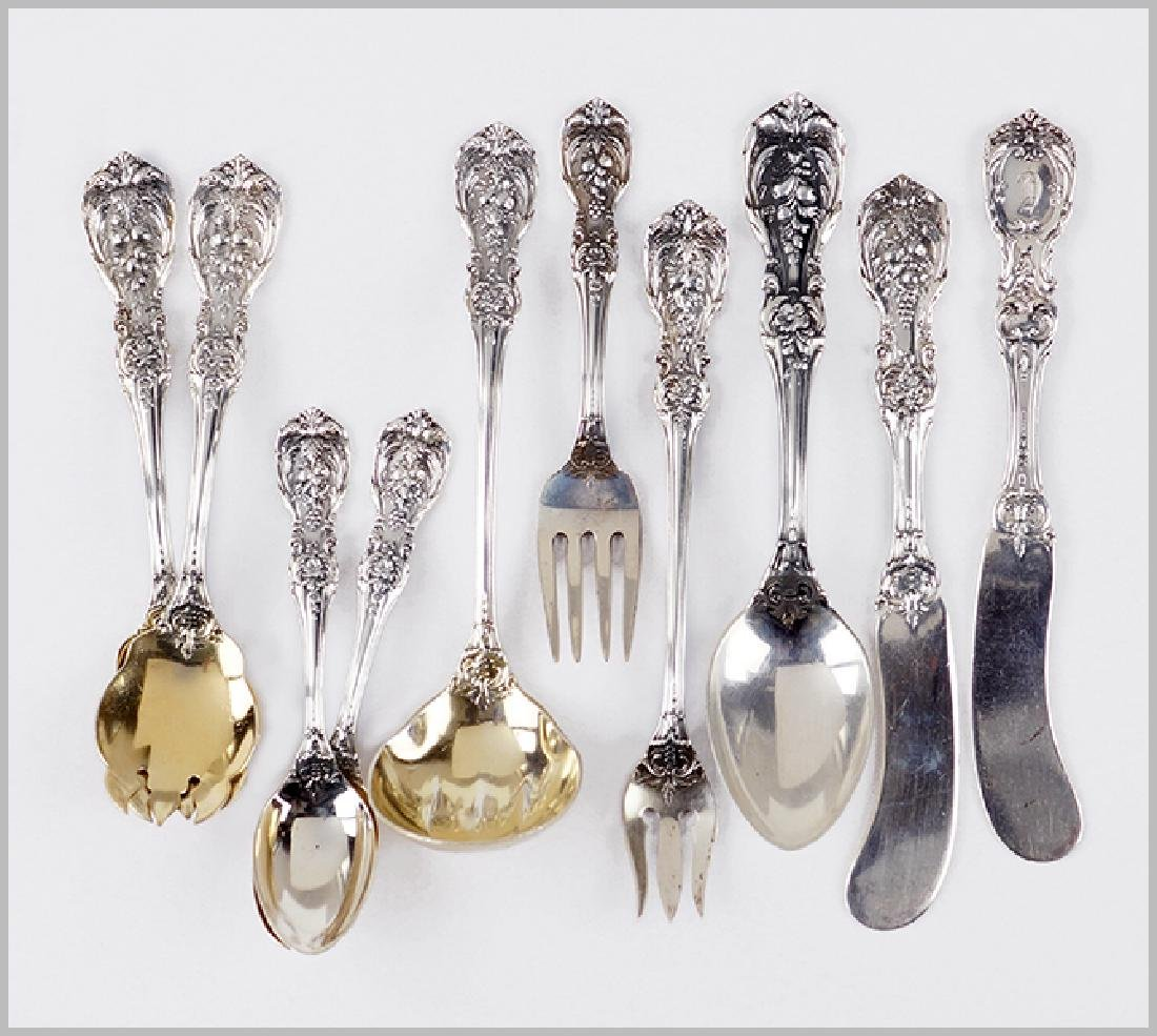 A Collection of Reed & Barton Sterling Silver Utensils.