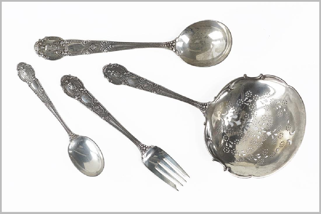 A Tiffany & Company Sterling Silver Partial Flatware