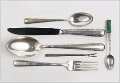 A Towle Sterling Silver Partial Flatware Service