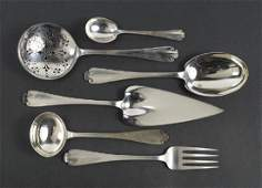 A Collection of Tiffany  Company Sterling Silver